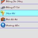 Phần mềm ôn thi bằng lái Oto – Moto trên điện thoại