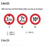 Đề thi thử hạng B, C – Đề số 08