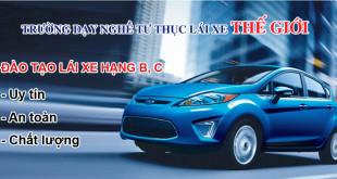 Dạy học lái xe ô tô hạng B