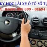 Lợi ích đăng ký học lái xe ô tô số tự động tại Trường Lái Xe Thế Giới HCM